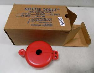 Prinzing Safetee Donut Valve Lockout Device 5t828 Box Of 4 Nib
