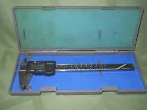 Mitutoyo Digimatic Digital Caliper 500 133 6 Inch With Case