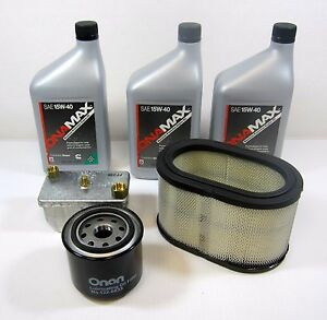 Onan Oem Tune Up Filter Kit W Oil For Rv Quiet Diesel Generator Hdkaj Spec A l