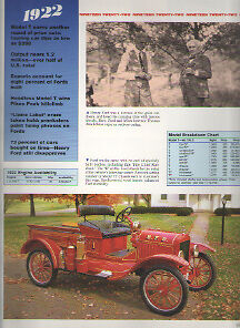 1922 Ford Model T Tt Article Fire Chief Runabout Truck Must See