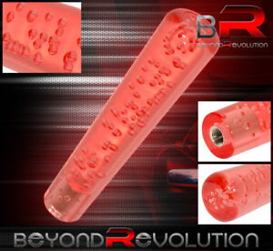 Manual 8 Bubble Extended Shift Knob A T Transmission M8 M10 M12 Adapter Red
