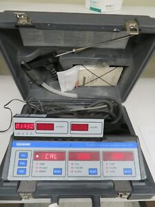 Rosemount Series 500 Portable Combustion Analyzer W Case Accessories Mw6