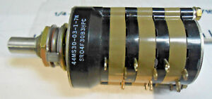 44ms30 03 1 7n Grayhill Rotary Switch 115 30 Volts New Old Stock