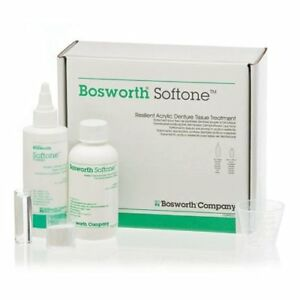Bosworth Softone Resilient Acrylic Denture Tissue Treatment Kit fda