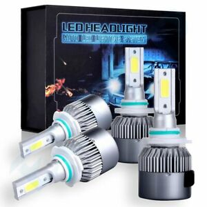 4pcs 9005 9006 Led Headlights Kit High Low Beam Bulbs 2100w 315000lm White 6000k