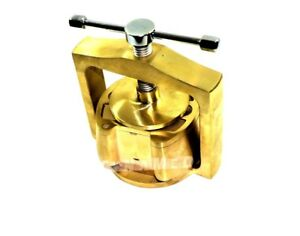 German Dental Laboratory Lab Spring Press Compress W one Brass Denture Flask 0