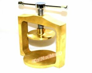 1 Each Premium Original Brass Dental Laboratory Single Lab Press Compress