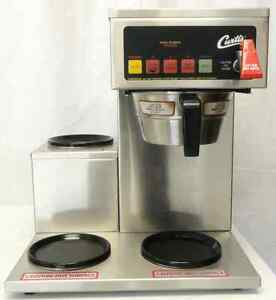 Curtis Alpha 3dsl Commercial Coffee Brewer W 3 Glass Carafes Contact 4 Shipping