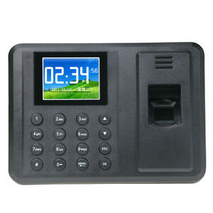 A8 2 8 Free Software Fingerprint Attendance Machine Time Clock Control Recorder