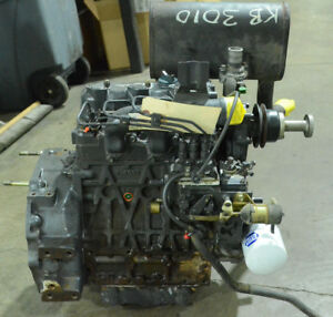 Kubota L3010 Engine Good Used Runner Price Includes 500 Core Charge