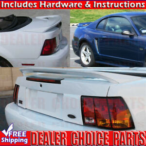 1999 2004 Ford Mustang 99 00 Factory Style Spoiler Rear Trunk Wing Unpainted