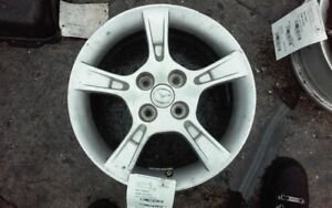 Wheel 15x6 Alloy 5 Notched Spokes Fits 02 03 Mazda Protege 378301