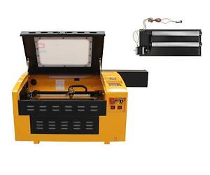 Upgrade Version 60w Laser Engraver Cutter With Usb Port Including Rotary Axis