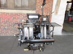 Heidelberg Windmill Come With 2 Numbering Clean Machine