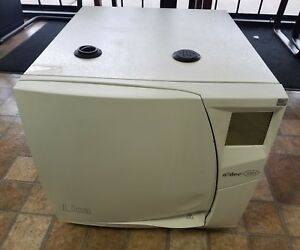 Adec W h Lisa Mb 17 Instrument Autoclave Steam Sterilizer 230 Volt With Tray Ho