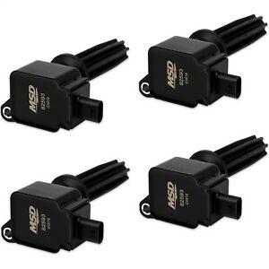 Msd Ignition 825943 Ford Ecoboost Direct Ignition Coil Set