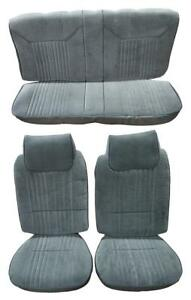 Oldsmobile Cutlass 442 Seat Upholstery For Front Buckets And Rear 1981 1988