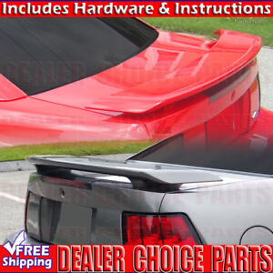 2001 2002 2003 2004 Ford Mustang Factory Style Spoiler Trunk Wing Unpainted