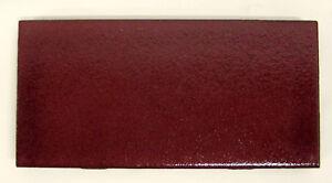Vintage Franciscan Subway Tile Maroon