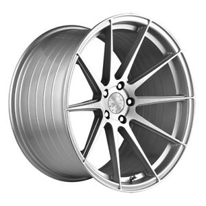 19 Vertini Rf1 3 Silver Concave Wheels Rims Fits Mercedes Benz C63 Amg
