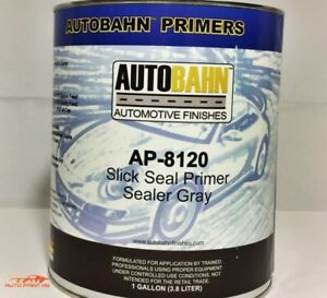 Slick Seal 1k Ready to spray Non sanding Primer Sealer Gallon Car Auto 4 colors