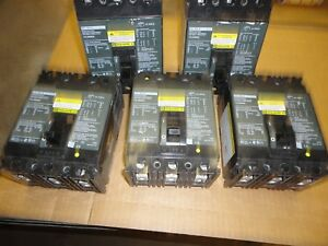 Sq D 100 Amp Molded Case Switch 3 Pole Fh100a Cat Fhl36000m