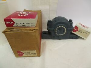 New Skf Split Pillow Block W bearing collar Adapter Saf22510 1 11 16 Bore