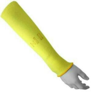 Global Glove K18sl Double Ply Kevlar 18 Sleeve Cut Resistant Yellow pack Of 12