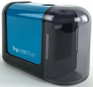 Electric Pencil Sharpener Battery Powered Kid Friendly School Office Supplies