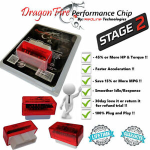 Performance Chip Power Tuner Programmer Stage 2 Fits 2000 2018 Toyota Tundra