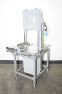 Hobart 6801 Commercial Butcher Market Beef Meat Band Saw Slicer 220v 3ph 5801
