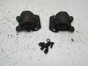 70 81 Camaro Engine Motor Mounts 3 8 V6 Original Chevy Chevrolet Engine Side