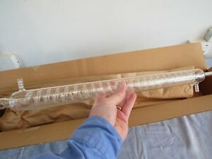 Corning Pyrex Glass Graham Distilling Condenser No 2060 24 Nos