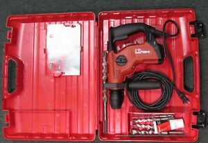 Hilti Te 7 Rotary Hammer With Accesories And Case