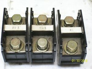 lot Of 11 Terminal Block 150a 660v Kt 150 Kt150