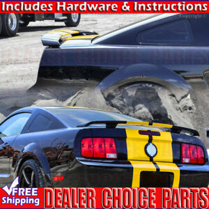 2005 2006 2007 2008 2009 Ford Mustang Factory Style Spoiler Trunk Wing Unpainted
