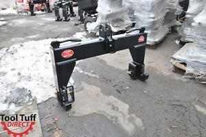 Tool Tuff 3 point Tractor Quick Hitch Category Cat 2 3 Implement Fits Cat 2