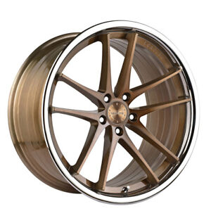 20 Vertini Rf1 5 Forged 20x10 5 Bronze Concave Wheels Rims Fits Audi B8 A5 S5