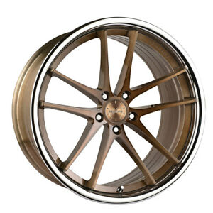 20 Vertini Rf1 5 Forged Bronze Concave Wheels Rims Fits Bmw F12 F13 M6