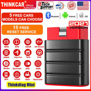 Thinkdiag Mini Bluetooth Automotive Code Reader All System Scan Diagnostic Obd2
