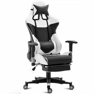 Ergonomic Gaming Chair High Back Racing Office Chair W lumbar Support