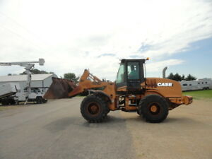 2001 Case 621d Wheel Loader Runs And Operates Well Bucket Pins Loose 4in1 Bucket