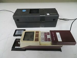 Mitutoyo Sj 201 Profilometer Surface Finish Tester Complete Tested Surftest Mw35