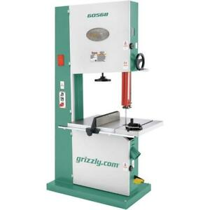G0568 Grizzly 24 Industrial Bandsaw 5 Hp Single phase