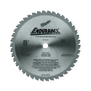 Milwaukee 48 40 4515 8 Metal Cutting Circular Saw Blade