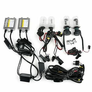 Philips Hid Canbus Xenon Slim Ballast Conversion Kit Bulbs H1 H3 H4 H7 H11 Hb3 4