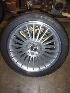 Amg Mercedes Benz Sl55 Sl65 Oem Wheels Set Of Four Front And Rear Good Condition