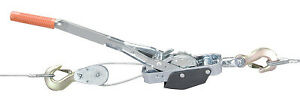 Mini mule Double Drive Pullers 2 Tons Capacity 6 Ft Lifting Height