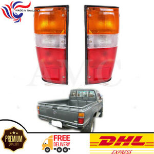 Fors 1984 1988 Toyota Hilux Ln50 Rn50 Compact Pickup Tail Lights Rear Lamp Pair
