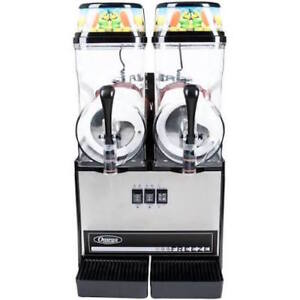 Omega Ofs20 Granita Slush Machine 2 3 gallon Bowls new local Pickup Only